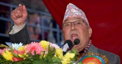 प्रधानमन्त्री केपी शर्मा ओली