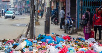 काठमाडौंको फोहोर