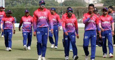 एकदिवसीय क्रिकेट वरियतामा नेपाल