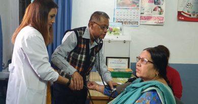अल्का अस्पतालद्वारा निःशुल्क स्वास्थ्य शिविर