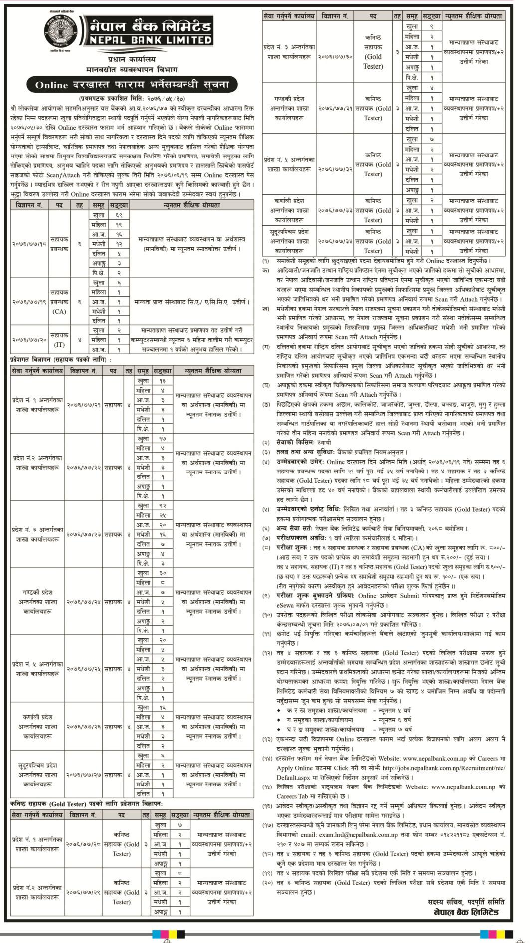 nepal bank limited